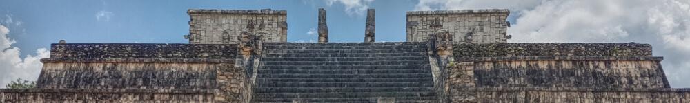Templo de los Guerreros long