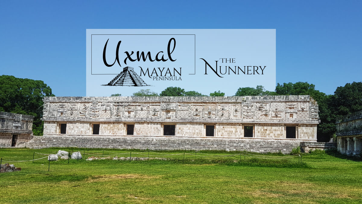 The Nunnery in Uxmal East Building