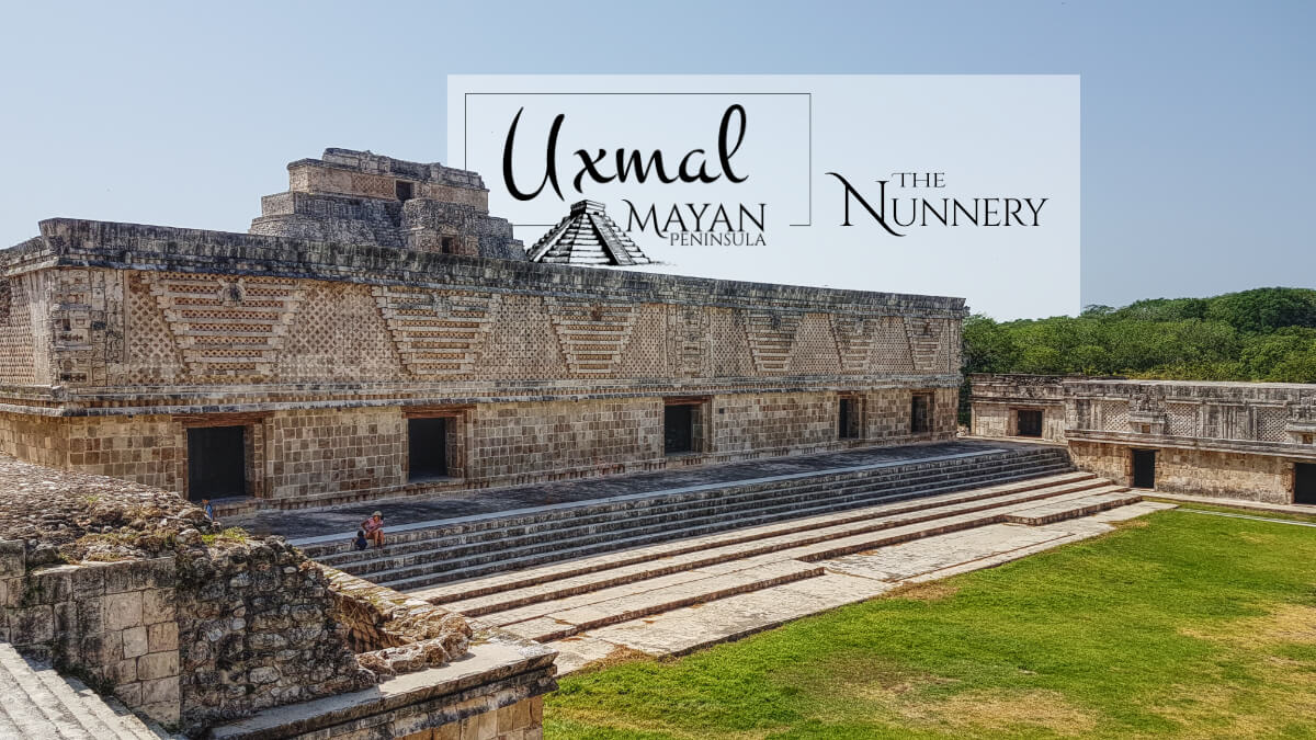 The Nunnery in Uxmal West Building