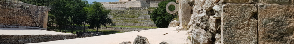Ball game in Uxmal long