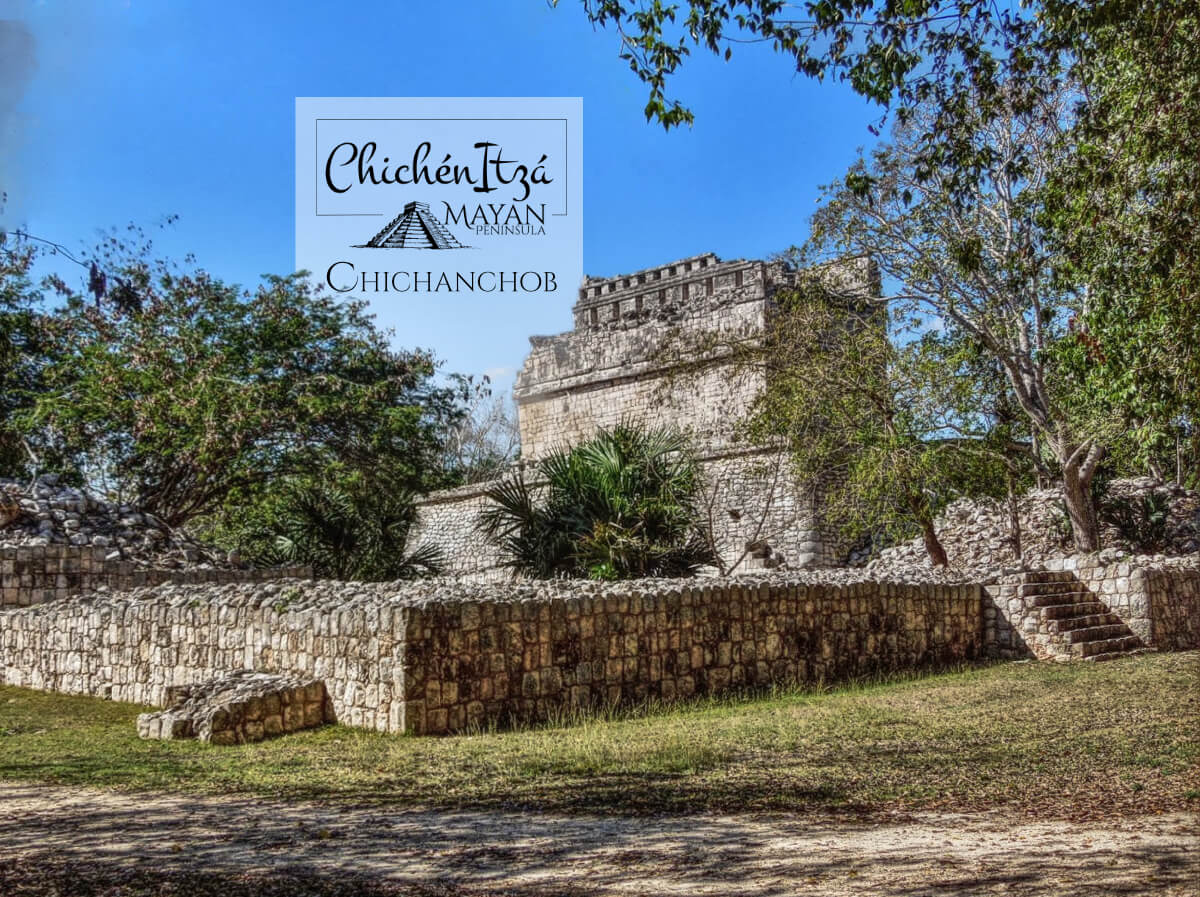 Chichanchob in Chichen Itza from the back