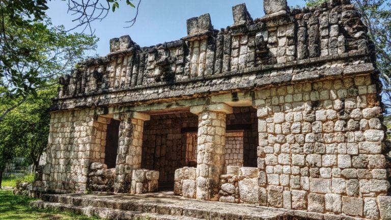 Edificio en Uxmal