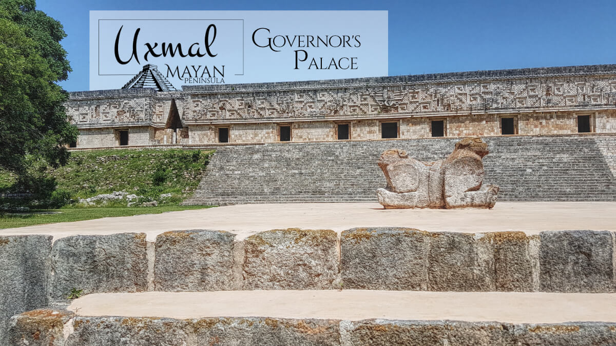 Governor's Palace Jaguar in Uxmal