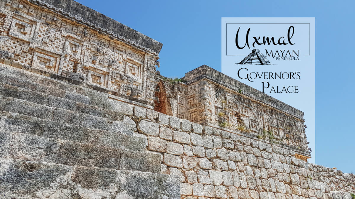 Governor's Palace Temple in Uxmal