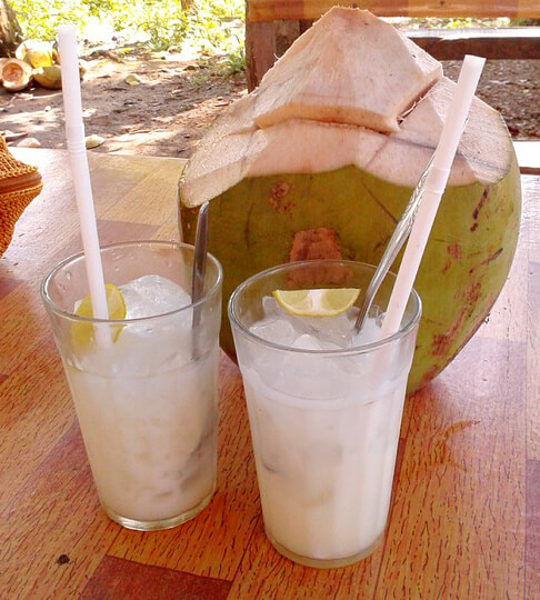 Horchata and Coconut water