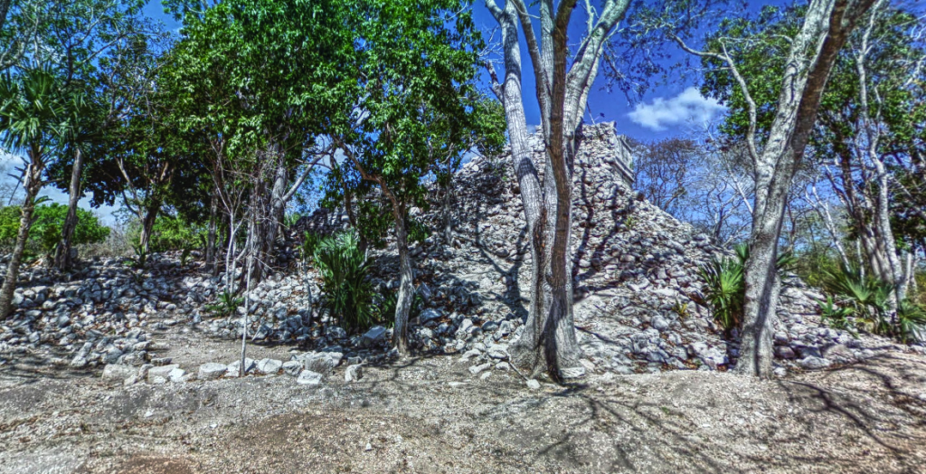 House of the Deer in Chichen Itza