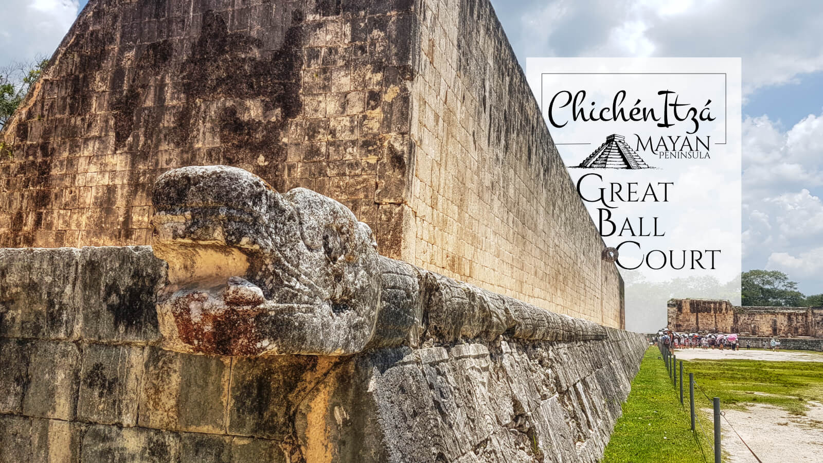 Great Ball Court in Chichén Itzá