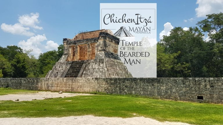 Temple of the Bearded man in Chichen Itza