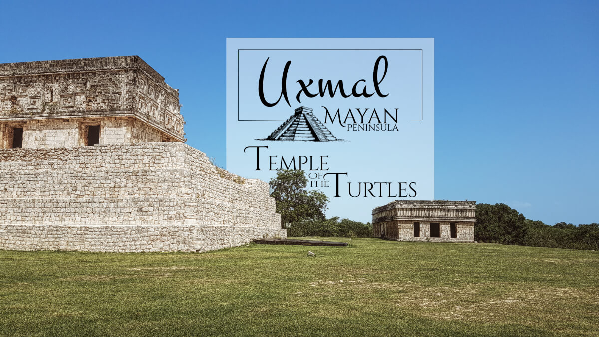 Temple of the Turtles and Governor's Palace in Uxmal