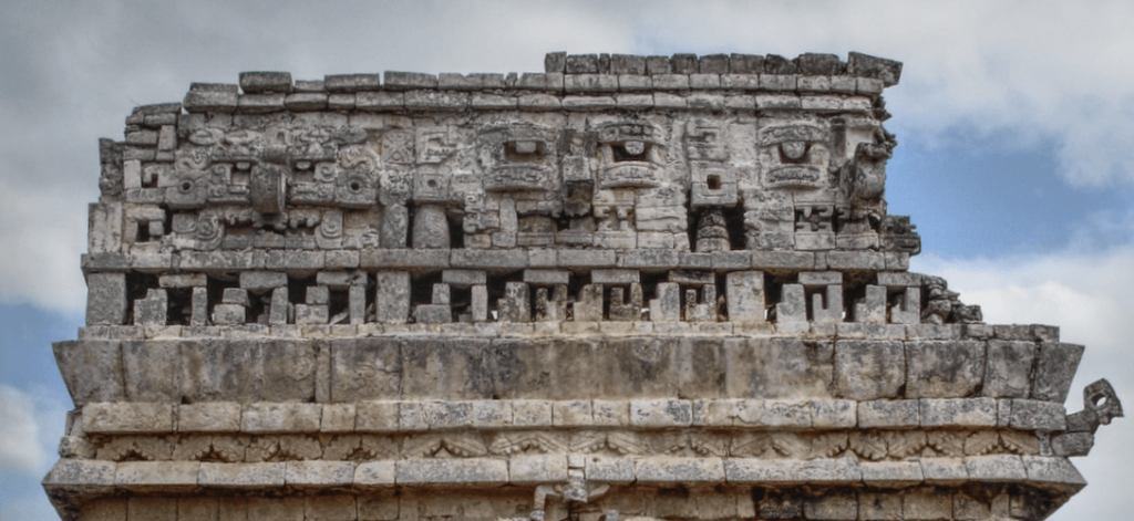 The Church's crest in Chichen Itza