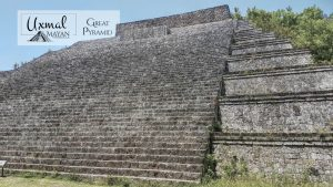 The Great Pyramid in Uxmal
