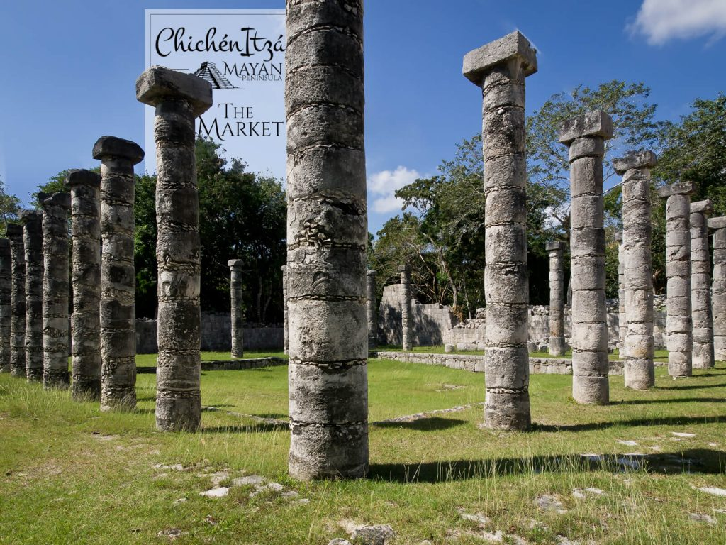 The Market in Chichén Itzá