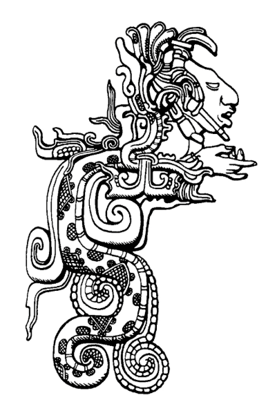 The Mayan god Kukulkan