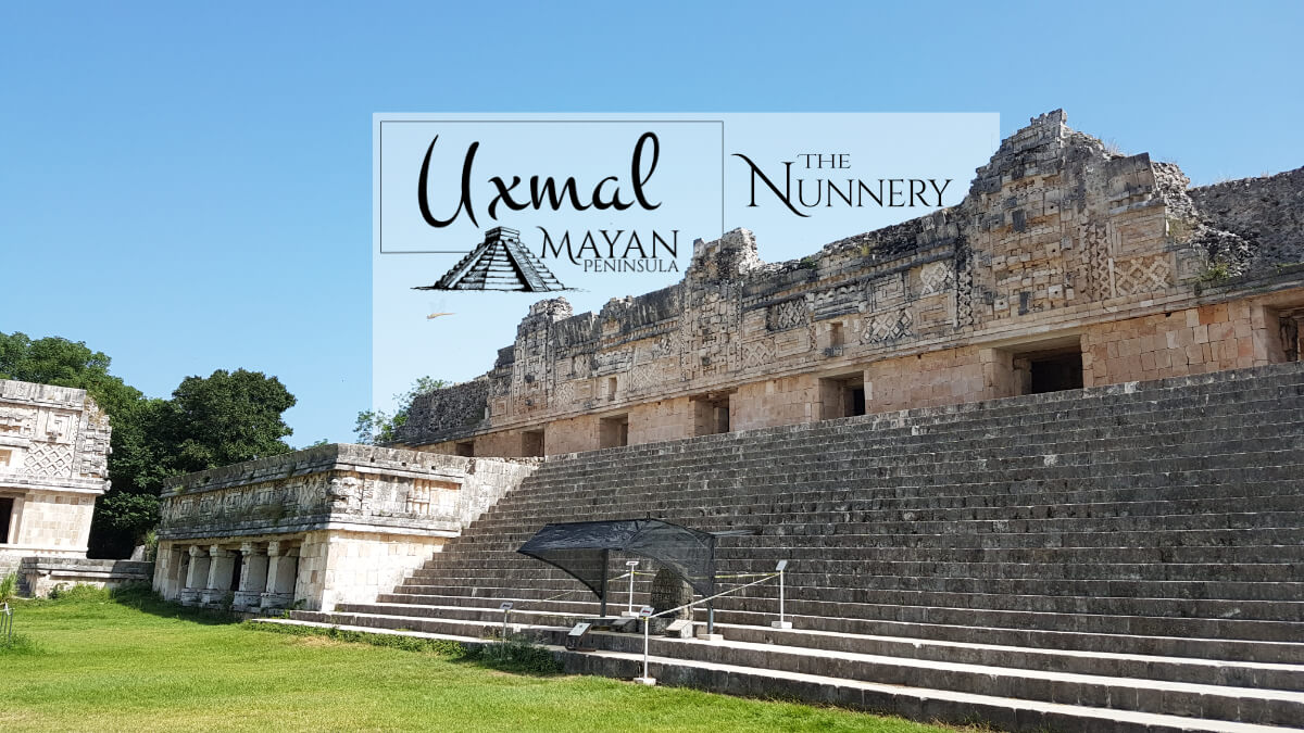 The Nunnery in Uxmal North Building