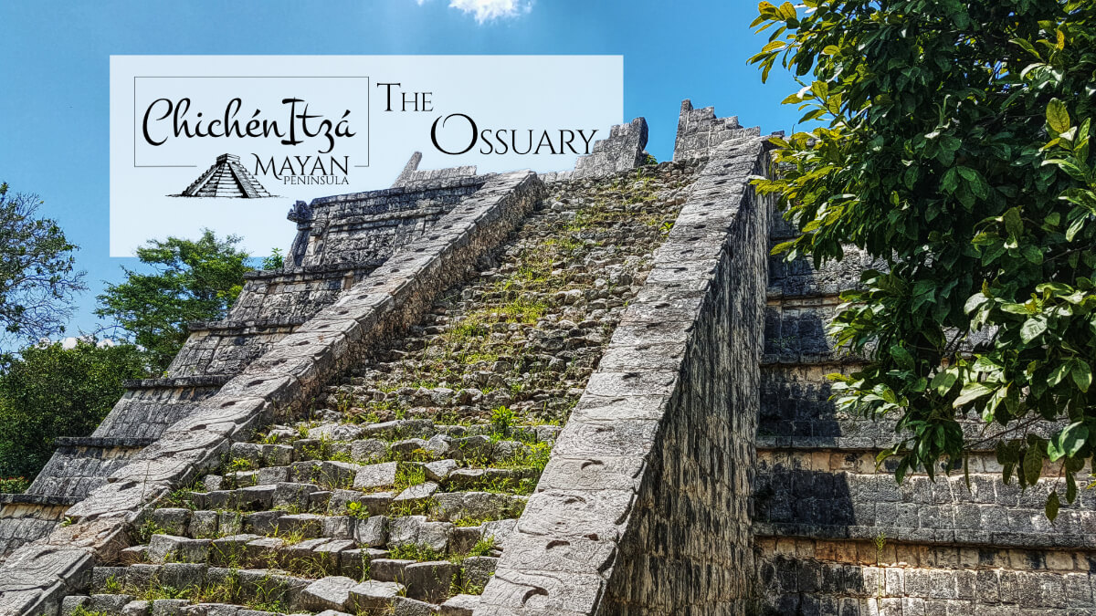 The Ossuary in Chichen Itza upper part