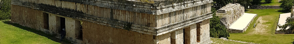 Turtles building Uxmal long