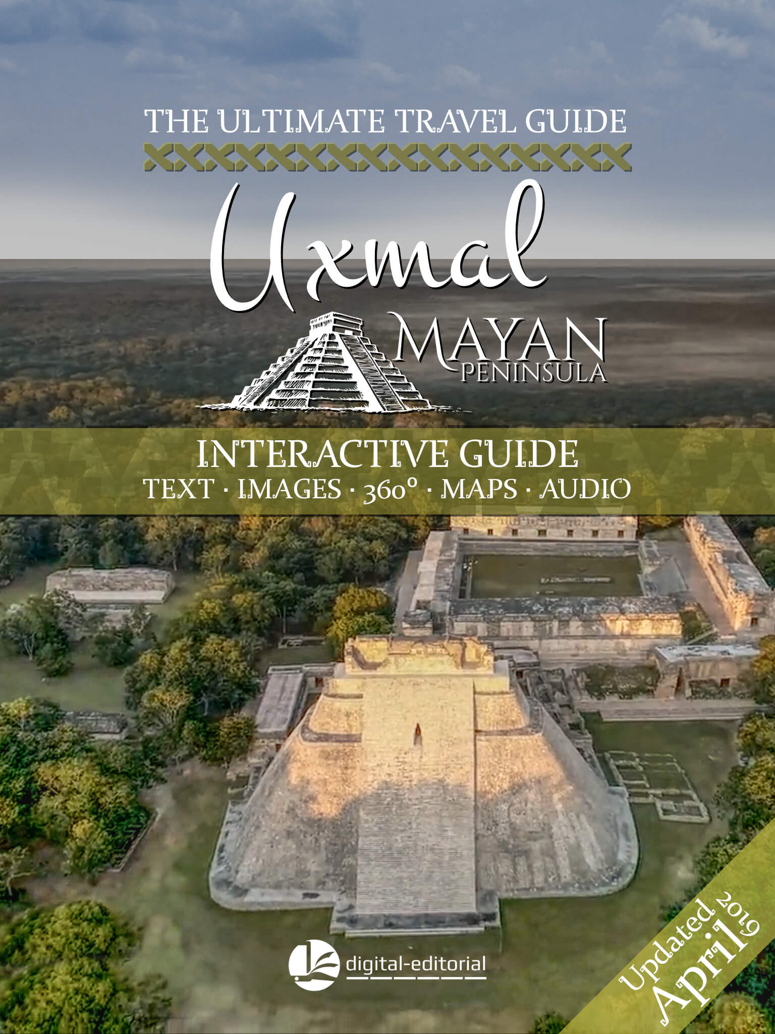 Uxmal Travel Guide Cover