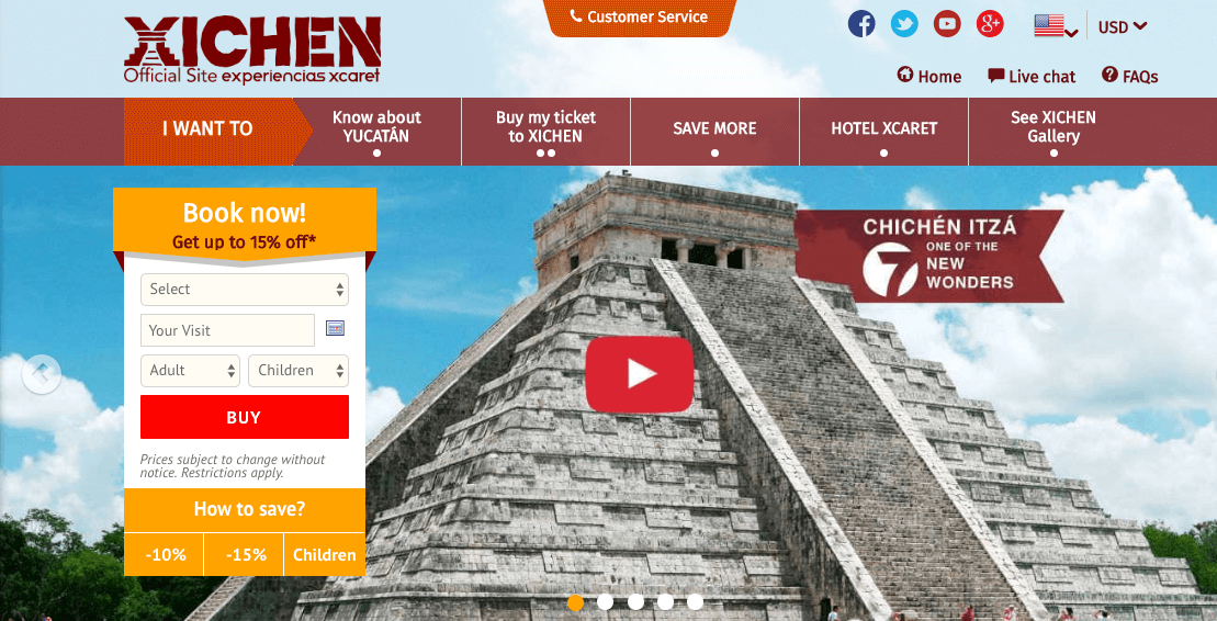 Xichen by Xcaret Chichen Itza Tours
