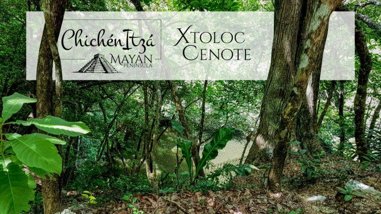Xtoloc Cenote in Chichen Itza
