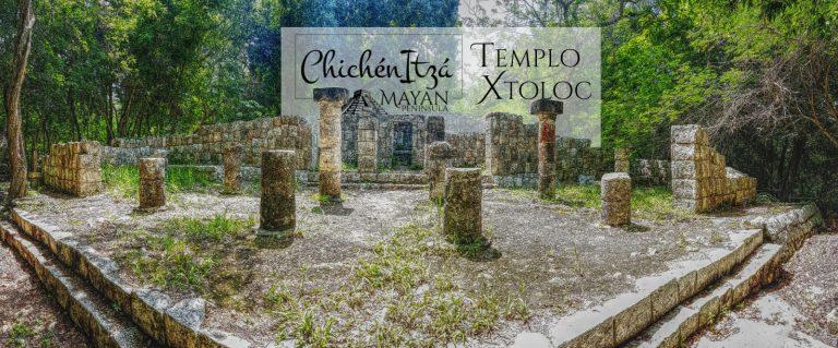 Templo Xtoloc en Chichén Itzá