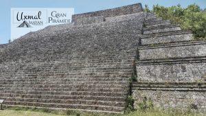 La Gran Pirámide en Uxmal