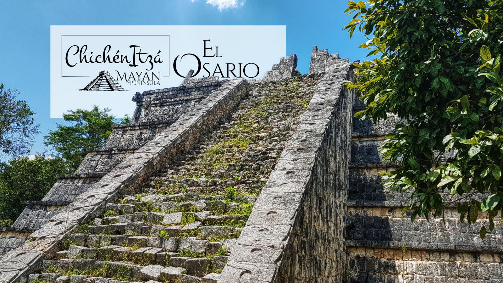 Parte superior del Osario en Chichén Itzá