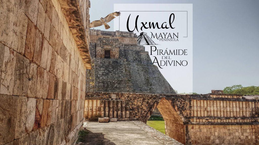 Pirámide del Adivino en Uxmal