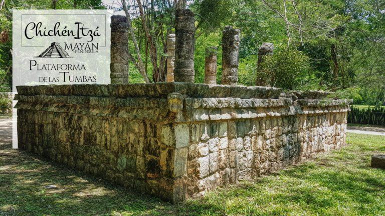 Plataforma de las Tumbas en Chichén Itzá