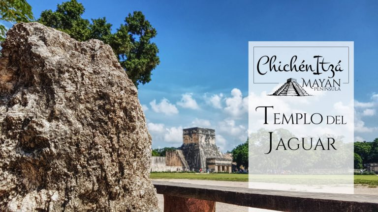 Templo del Jaguar en Chichén Itzá