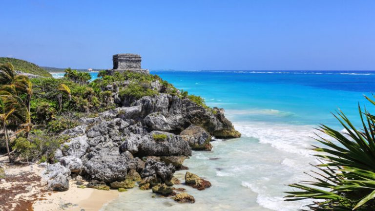The Wind Temple in Tulum