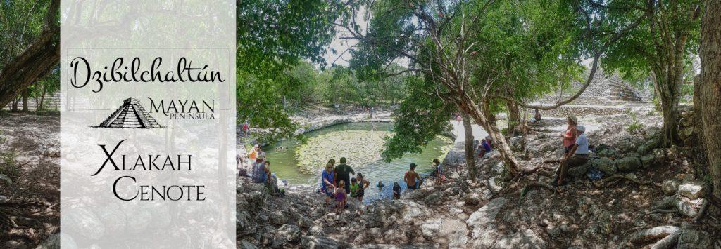 Xlakah Cenote in Dzibilchaltun
