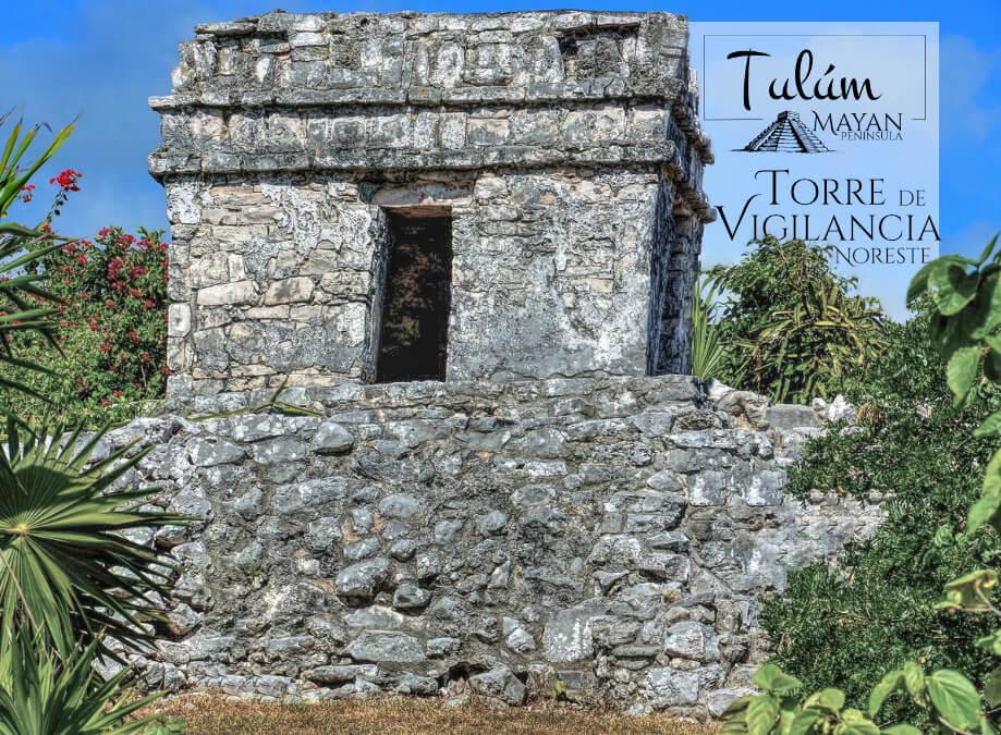 Torre de vigilancia Noreste en Tulúm