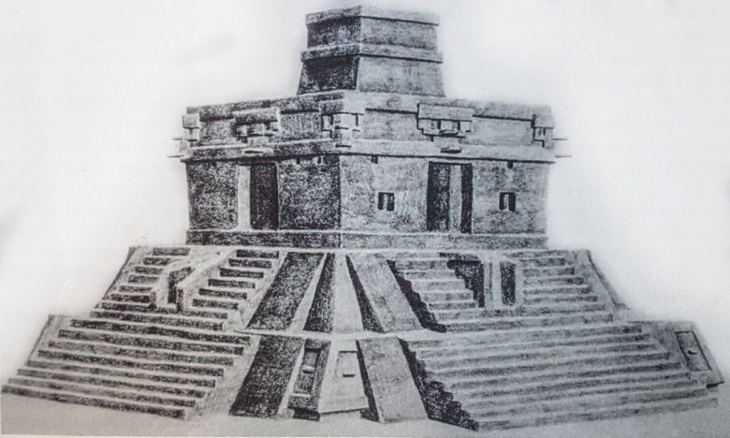 Temple of the seven dolls sketch