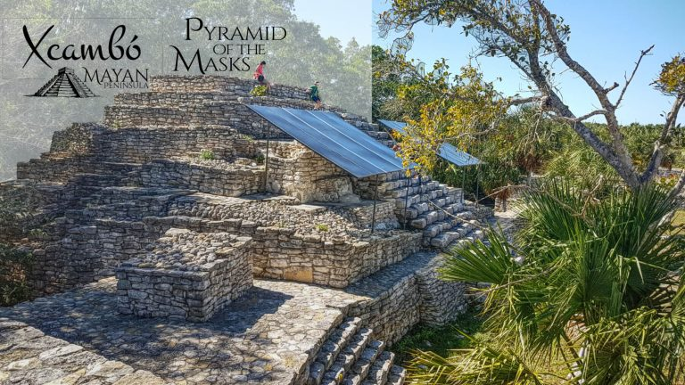 Pyramid of the Masks in Xcambo