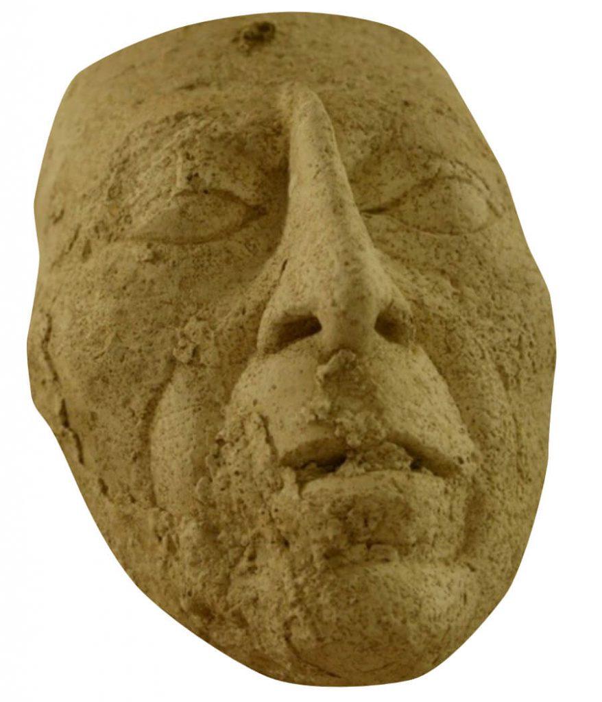 Señor Pakal's stucco face