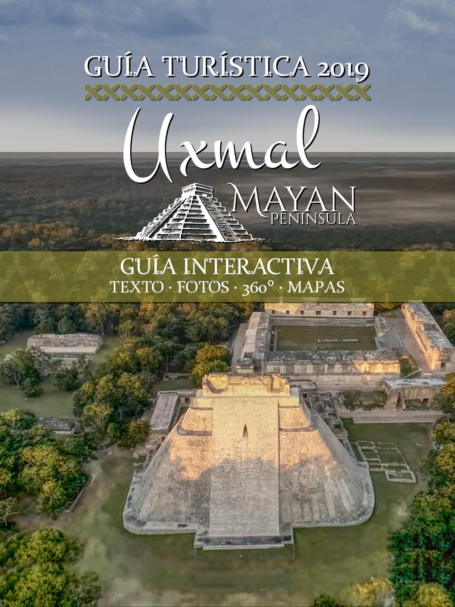 Guía Turística de Uxmal portada