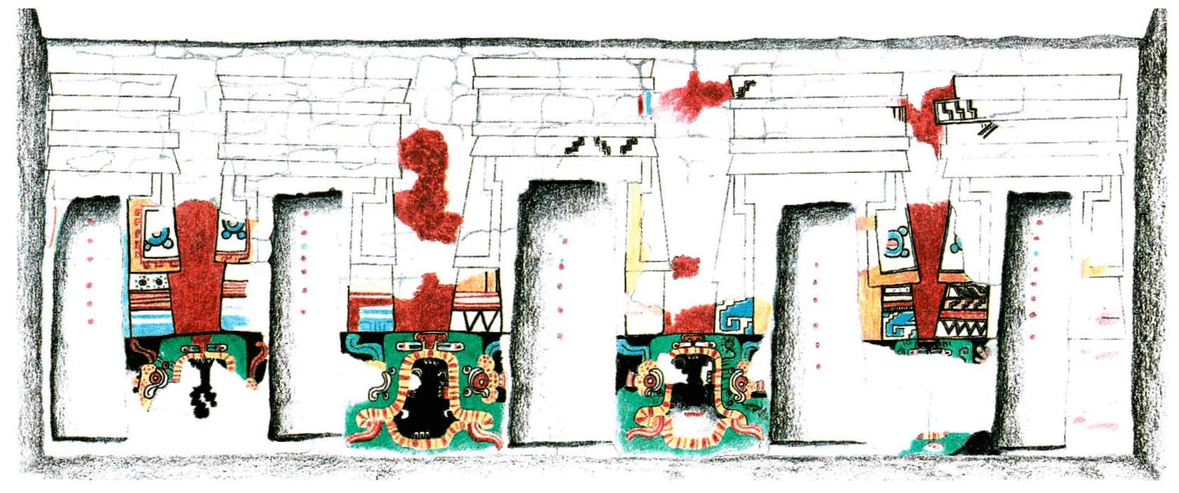 Mural de los nichos