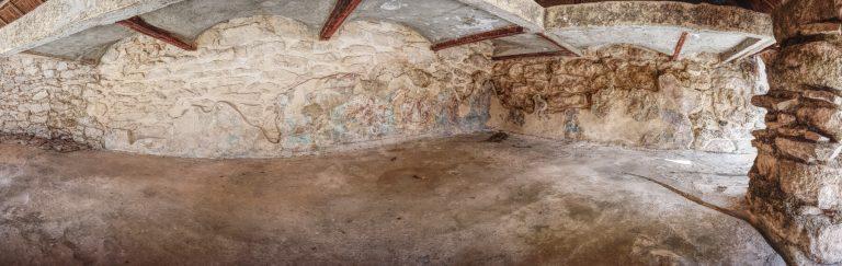 Murales en Mayapán
