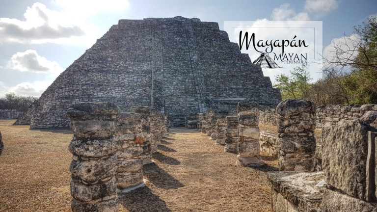 Sala de los Reyes en Mayapán