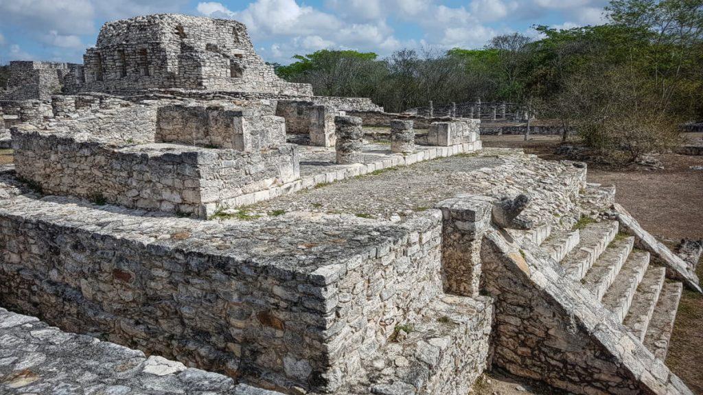 Templo de los Guerreros en Mayapán