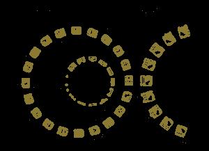 Representación del calendario Maya por medio de engranes