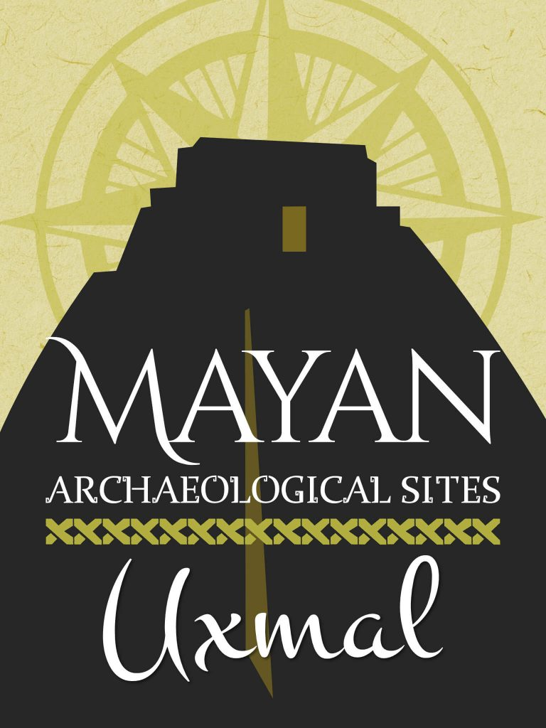Uxmal travel guide text cover
